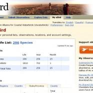 Please use eBird!