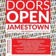 Doors Open Jamestown Saturday!