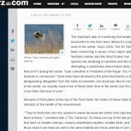 Winter Raptor Count – RTPI on WGRZ TV