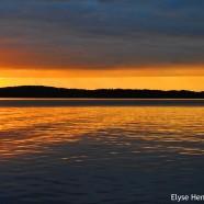 Sunset at Chautauqua Lake