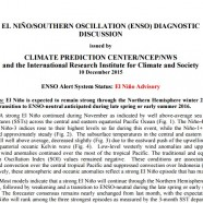 December El Niño/Southern Oscillation (ENSO) Diagnostic Discussion