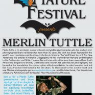 Greystone Nature Festival presents Merlin Tuttle