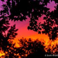 Summer Ends Sunset