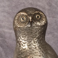 Win this bronze snowy owl sculpture and help conserve the birds in your own backyard!